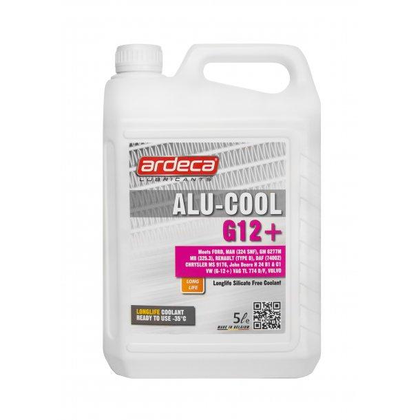Kølervæske Rød Alu Cool G12+ - 5 ltr
