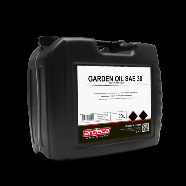 Plæneklipperolie SAE 30 gardenoil - 20 ltr