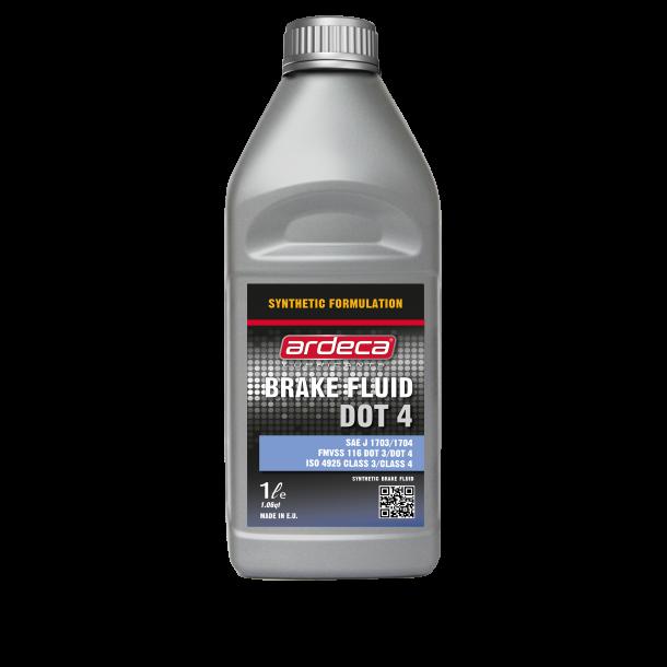 Bremsevæske brake Fluid Dot 4 - 1 ltr