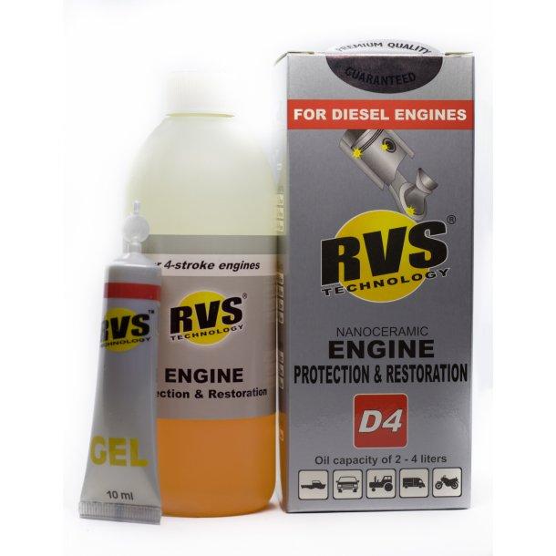 D4 RVS Technology® Diesel motorbehandling
