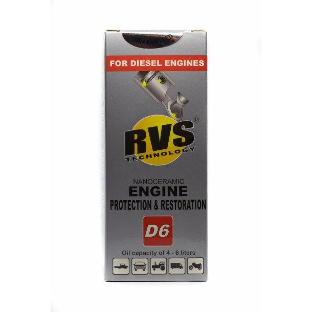 D6 RVS Technology® Diesel motorbehandling