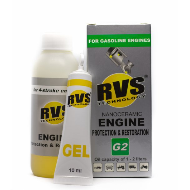 G2 RVS Technology® Benzin motorbehandling
