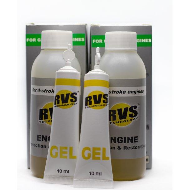 2 X G2 RVS Technology® Benzin motorbehandling