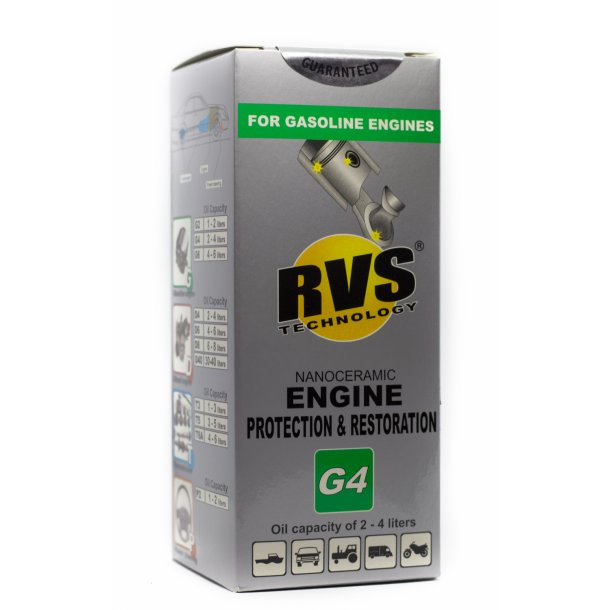 G4 RVS Technology® Benzin motorbehandling