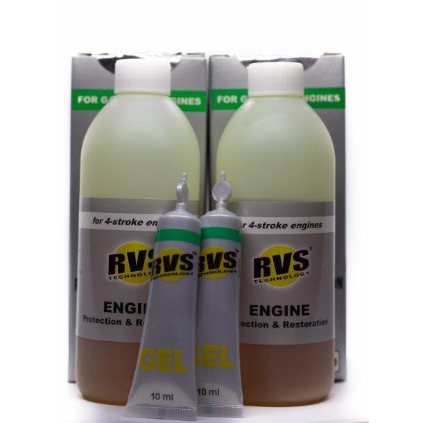 2 x G4 RVS Technology® Benzin motorbehandling