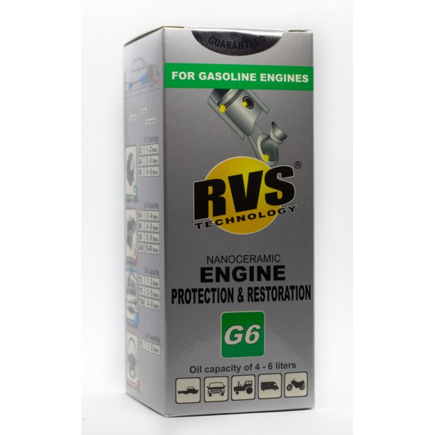 G6 RVS Technology® Benzin motorbehandling
