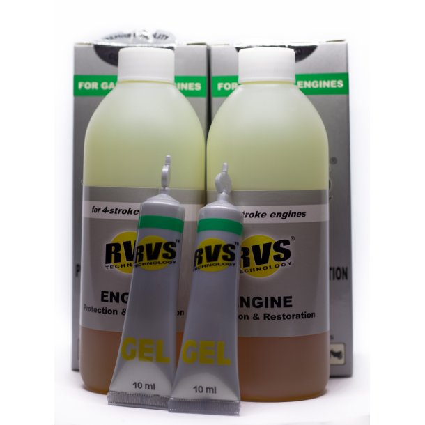 2 x G6 RVS Technology® Benzin motorbehandling