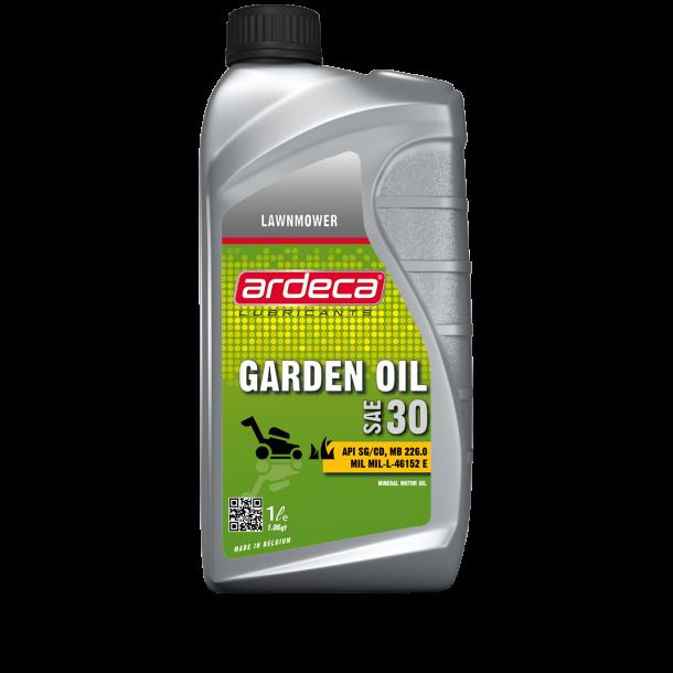 Plæneklipperolie SAE 30 gardenoil - 1 ltr