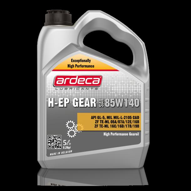 Gearolie GL5 H-EP Gear 85w140 - 5 ltr