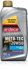 MC olie Moto Tec Racing 20w50- 1 ltr