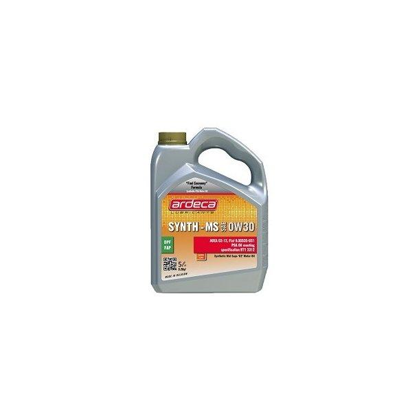 Motorolie Synth MS 0w30 - 5 ltr