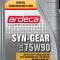 Gearolie Syn-Gear 75w90 - 1 ltr