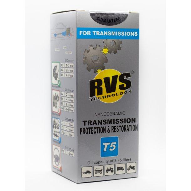 T5 RVS Technology® Gearkasse og bagtøjs behandling