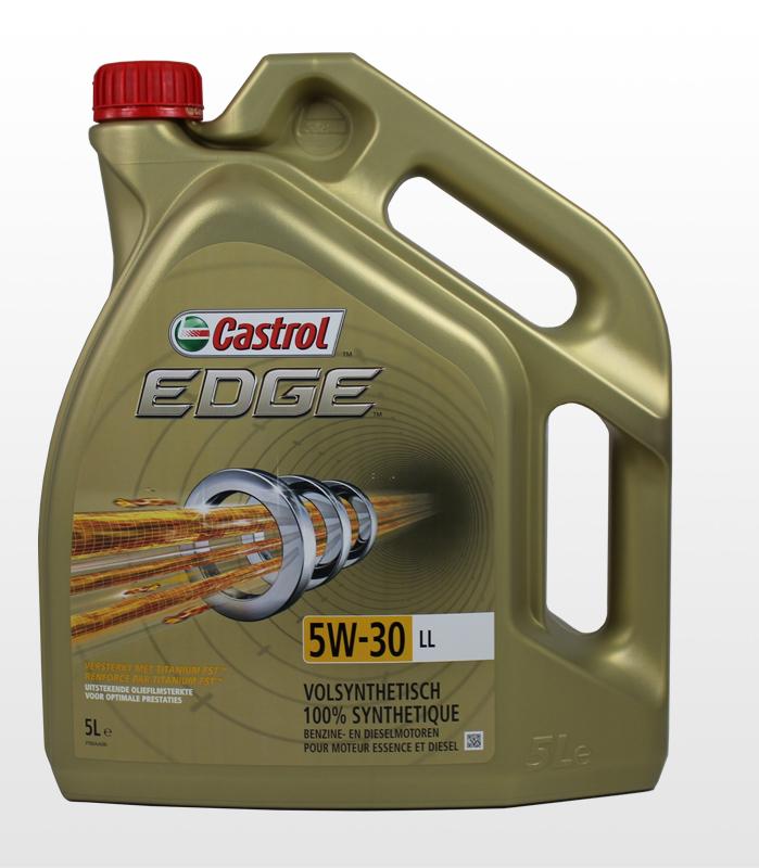 Dejlig Motorolie Castrol EDGE 5W30 LL (TI) FST - 5 L - Køb her IU-87